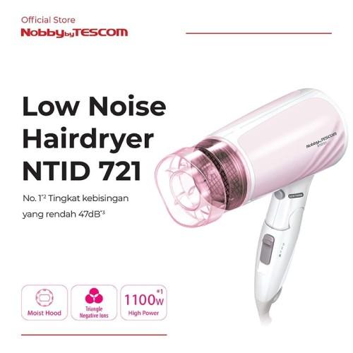 Foto Produk TESCOM Pengering Rambut NTID721 Ion Hair Dryer (Low Noise Model) dari TESCOM INDONESIA