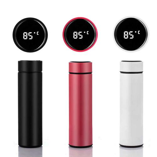 Foto Produk Smart Cup Tumbler Celsius / Thermometer Tumbler - 500 ml dari CV IndoPromosi