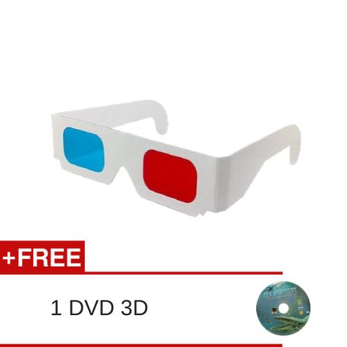 Foto Produk Kacamata 3D Red/Cyan dari Kacamata Dan Film 3D