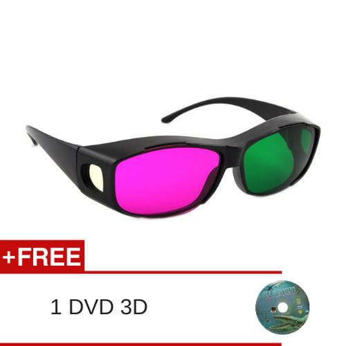 Foto Produk Kacamata 3D Green/Magenta dari Kacamata Dan Film 3D