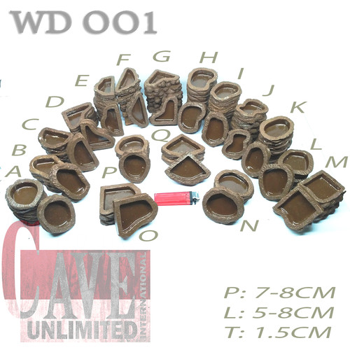 Foto Produk WATER DISH MURAH WD001 - A dari scorpion/ kalajengking