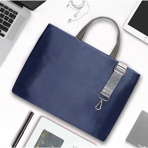 Foto Produk Tas Laptop Sleeve Selempang 14 inch - Pink - Biru dari gudanggadget14