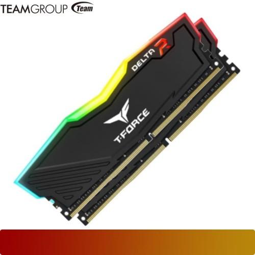 Foto Produk Memory TEAM - TF3D416G3600HC18JDC01 Delta RGB 16GB 2x8GB DDR4 3600 dari Nano Komputer