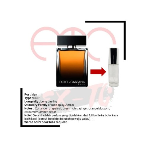 Foto Produk Decant Original Dolce & Gabbana The One Men EDP 10ml dari ETC