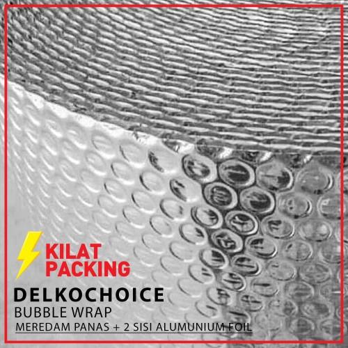 Foto Produk Aluminium Foil Bubble | Insulasi Atap | Peredam Panas Atap Meteran dari kilatpacking