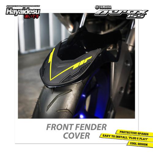 Foto Produk Hayaidesu AEROX Front Fender Body Protector Cover Pelindung Spakbor - Kuning dari Hayaidesu Indonesia
