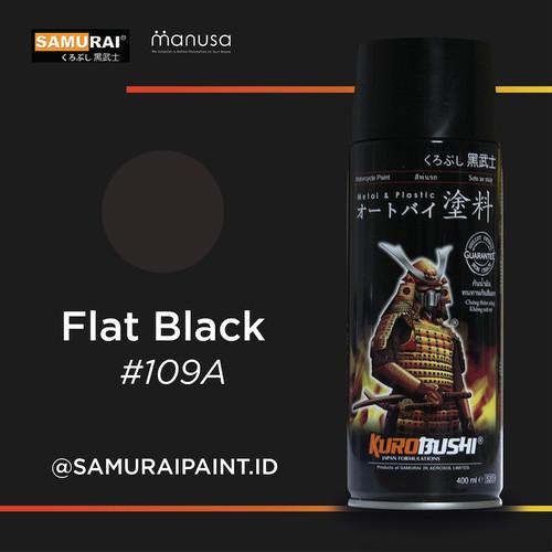 Foto Produk Samurai Paint Standard Flat Black 109a Hitam Doff Standar #109A dari samuraipaint-id