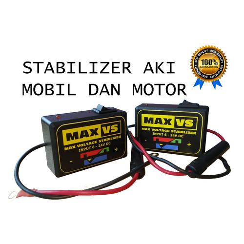 Foto Produk Stabilizer Aki Accu Voltage Penstabil Tegangan Motor Mobil 6 - 24V DC dari eia shop