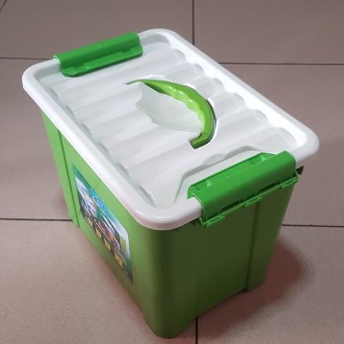 Foto Produk Handy Box Container Dgn Handle 15 Liter / Box Container 15L - Hijau dari secretbasesby