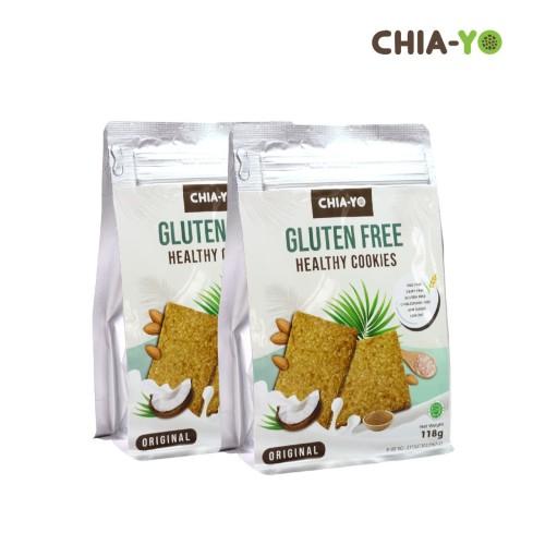 Foto Produk Gluten Free Healthy Cookies 2pack dari Chia-Yo