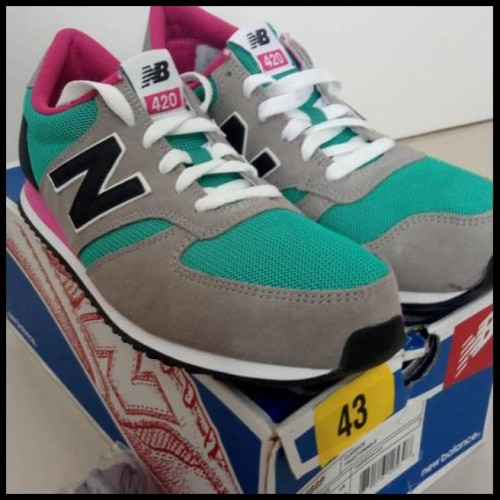 Original New Balance 420 Bnib Sepatu Pria Wanita Running Murah Asli
