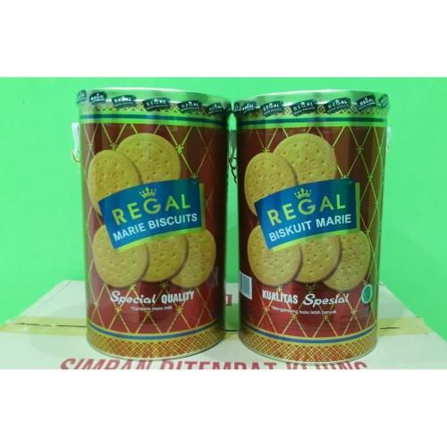 Foto Produk Biskuit Marie Regal Kaleng Rantai Spesial 1000gr dari Sumber Berkah Boga