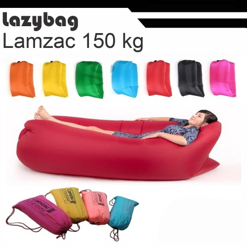 Foto Produk lazy bag / lazybag / air sofa bed / laybag / lay bag LMZC 100% dari agen oudoor