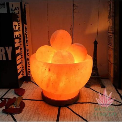 Foto Produk Himalayan Salt Lamp Massage Balls Terapi Garam Himalaya (5 balls) dari Nature Concept