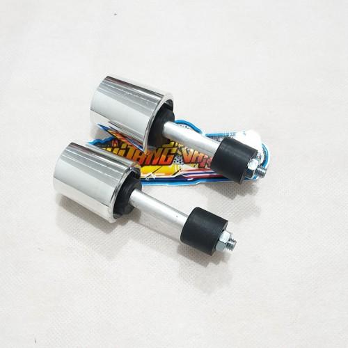Foto Produk Jalu stang Thunder Ninja suzuki satria FU aluminium crome chrome dari gudang variasi mtr