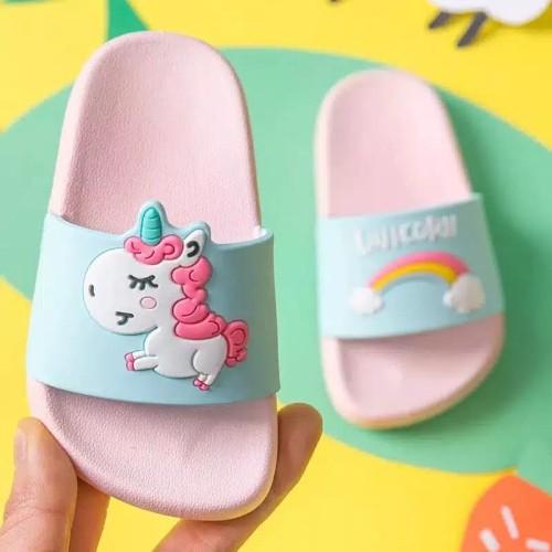 Foto Produk sandal selop anak perempuan unicorn dari our_baby_kidswear