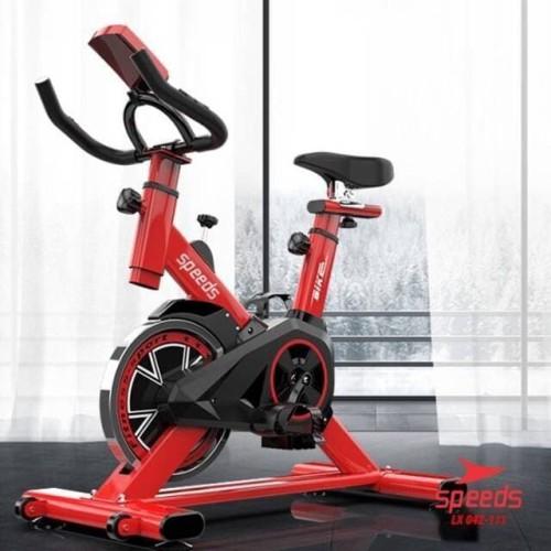 Foto Produk Sepeda statis indoor Spinning bike Gym Fitness olahraga Rumah 111 dari lbagstore