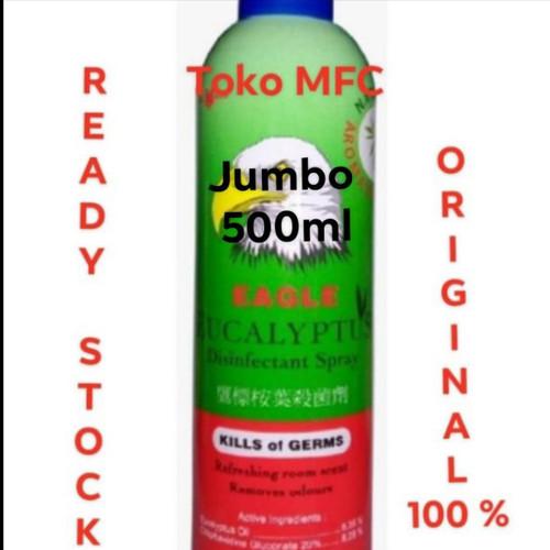 Foto Produk EAGLE EUCALYPTUS DISINFEKTAN SPRAY JUMBO 500ML. dari Toko MfC
