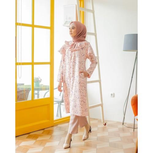 Foto Produk Baju Wanita Marinka Mididress Pink Marshmallow - XL dari DRESSSOFIA