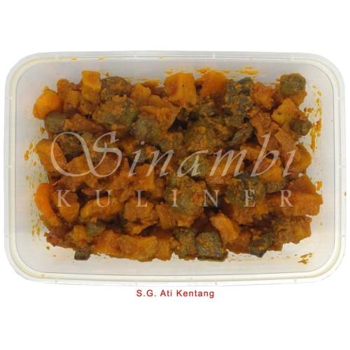 Foto Produk Sambal Goreng Ati Kentang Sinambi 250 gr dari Sinambi Kuliner