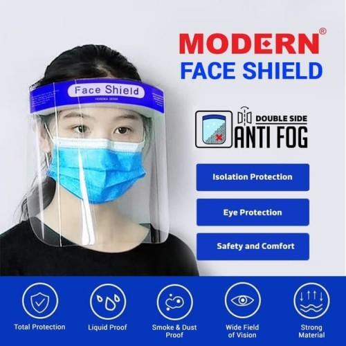 Foto Produk Face Shield Pelindung Wajah APD Anti Fog dari Luna Life Health