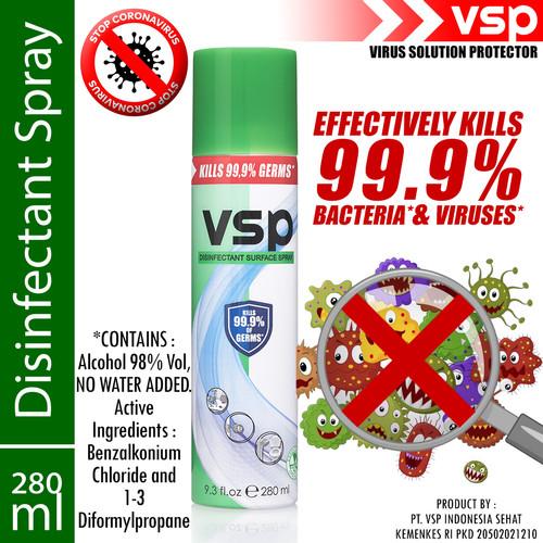 Foto Produk VSP Disinfectant Spray 280ml dari VSP Indonesia