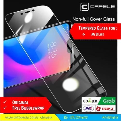 Foto Produk Tempered Glass CAFELE Xiaomi Mi8 Lite Mi 8 Lite Youth HD Clear dari SR Dynasty