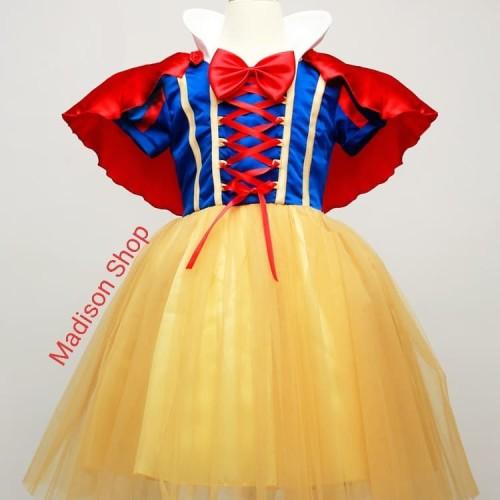 Foto Produk Kostum Snow White Jubah Merah Baju Princess Cosplay Dress Pesta Anak - 130 dari MadisonShop