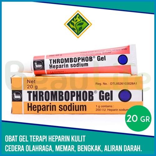 Foto Produk ✅THROMBOPHOB Gel 20g Heparin Sodium - Salep Kulit Otot Gumpal Darah dari BeauLife