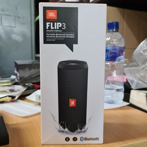 Foto Produk JBL FLIP 3 SPEAKER WIRELESS BLUETOOTH PORTABLE SPLASHPROOF - ORIGINAL dari Market Plan