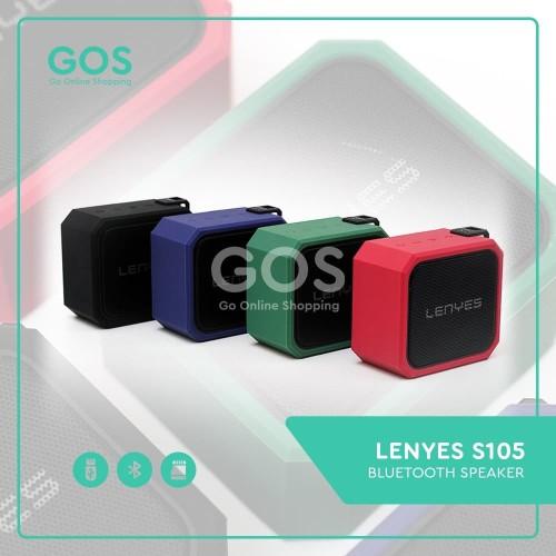 Foto Produk Speaker Bluetooth Portable Waterproof Tahan Banting LENYES S105 dari GOS Aksesoris HP