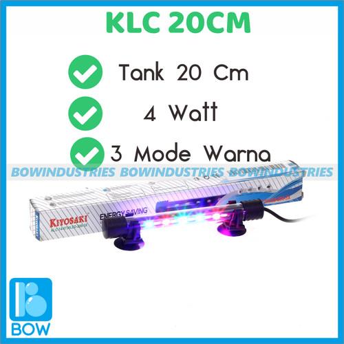 Foto Produk Lampu Led Celup Aquarium Aquascape Kiyosaki KLC 200 4 Watt Tank 20 Cm dari bowindustries