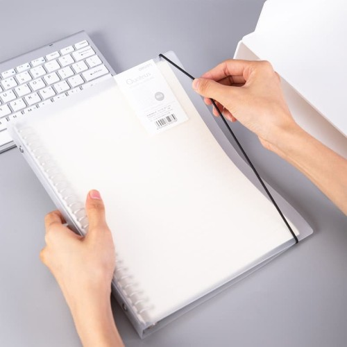 Foto Produk Deli Loose-Leaf Buku Notebook B5 60lembar HB560 - transverse line dari Deli Stationery