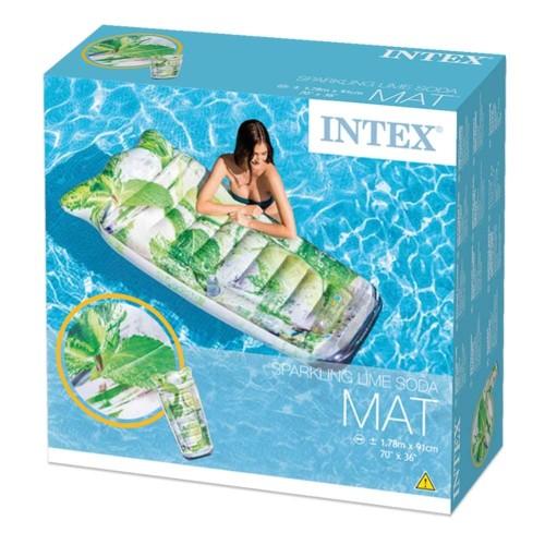 Foto Produk Pelampung Intex Matras Renang Infused Sparkling Water Mat 58778 dari Seputar dunia anak