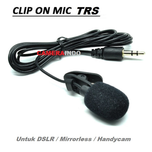 Foto Produk mic clip on 3.5mm Smartphone Laptop Tablet PC - MIC TRS ONLY dari SMN Official