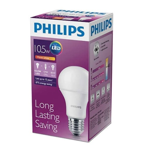 Foto Produk lampu LED philips 10.5w watt cool daylight dari EscannorShop14