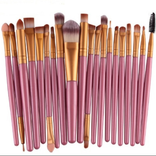 Foto Produk Kuas Make Up Kosmetik Brush 1 paket 20 kuas dari Adia Alia Shop