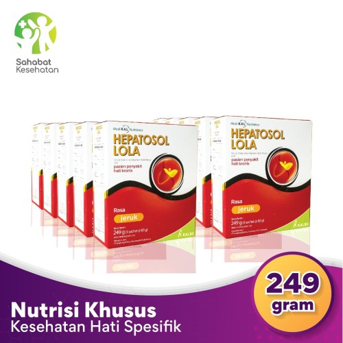 Foto Produk Bundle 10 Box Hepatosol Lola - Nutrisi Kesehatan Hati Spesifik dari Sahabat Kesehatan