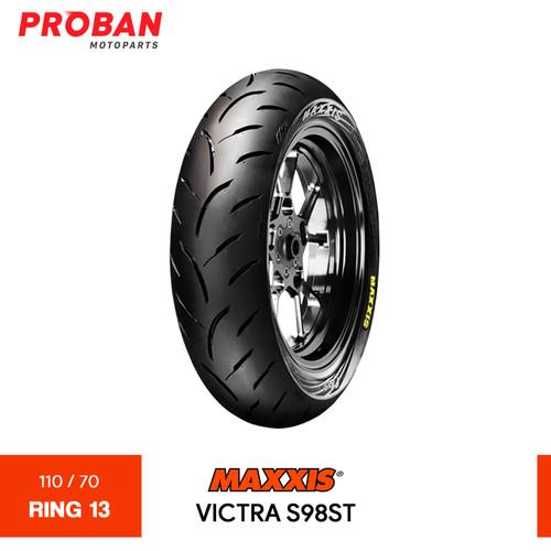 Foto Produk Ban Motor MAXXIS TL VICTRA S98ST 110/70 Ring 13 Tubeless dari Proban Motoparts