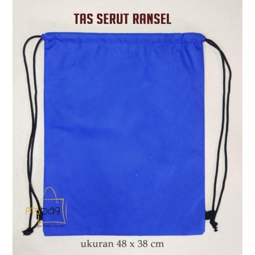 Foto Produk Tas Serut Ransel / Drawstring Bag - Spunbond - Hitam dari probag