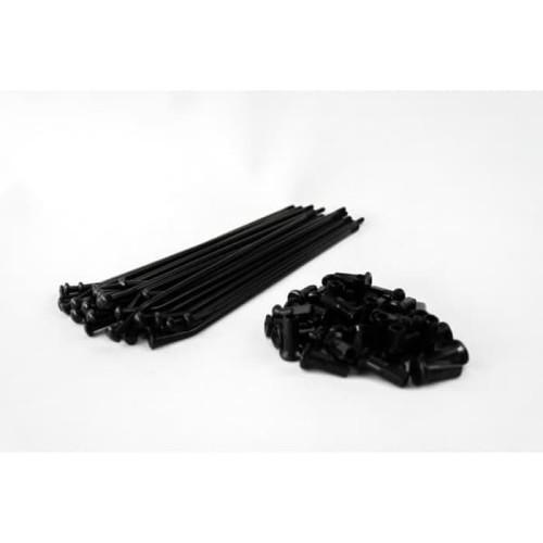 Foto Produk JARI-JARI TK 08G X 168 N08G BLACK / CHROME - Chrome dari TK RACING