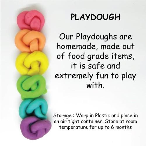 Foto Produk playdough homemade kids save non toxic dari Playset-id