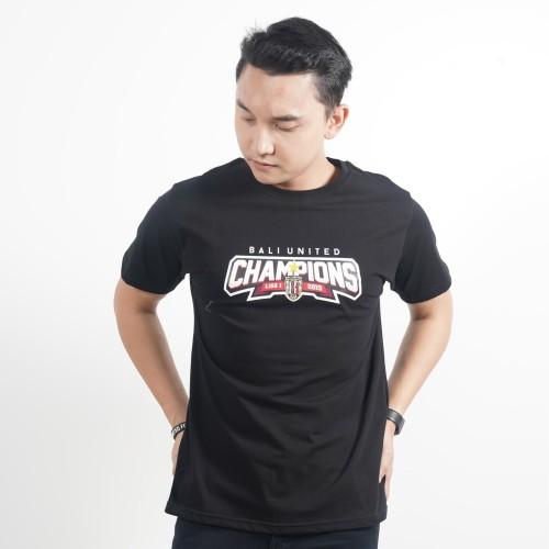 Foto Produk T-Shirt Champions - Hitam, S dari Bali United Official