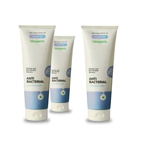 Foto Produk Bundling Aquatic x Tokopedia Hand Sanitizer Gel 100ml Alcohol 70% dari Aquatic Official Store