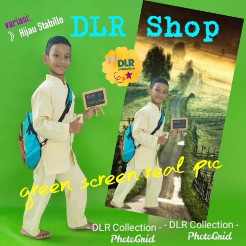 Foto Produk green screen bahan kain spunbond dari DLR Shop