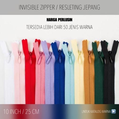 Foto Produk Resleting Jepang PERLUSIN 25 CM / 10 INCH dari FleurDeCerisier