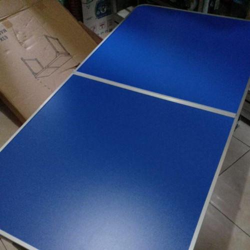 Foto Produk Meja Lipat Bentuk Koper (Portable) Cocok utk Jualan dan Pameran - Biru dari Minisweet_olshop