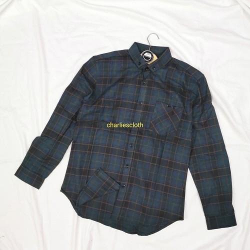 Foto Produk Kemeja Flanel Pria Lengan Panjang Kemeja Casual charliescloth 801 - M dari charliesjeans