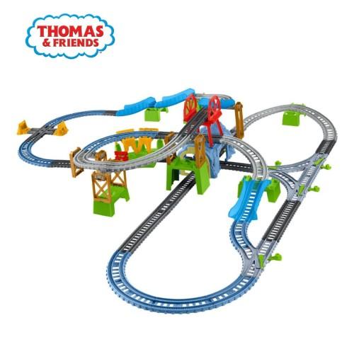 Foto Produk Thomas and Friends TrackMaster 6-in-1 Builder Set - Mainan Kereta Anak dari Thomas & Friends