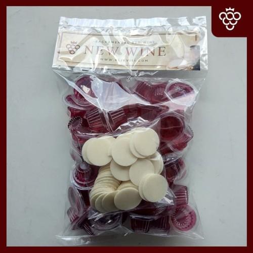 Foto Produk Anggur Perjamuan New Wine Cup+Hosti isi 50 dari Visi Christian Store